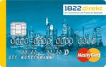 1822 kreditkarte