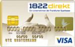 1822 visa gold kreditkarte