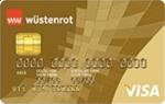 wuestenrot gold visa kreditkarte