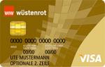 wuestenrot prepaid gold visa kreditkarte