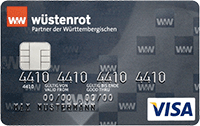 wuestenrot prepaid visa kreditkarte
