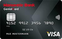 hanseatic genialcard kreditkarte