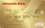 hanseatic gold kreditkarte