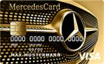 mercedes gold kreditkarte