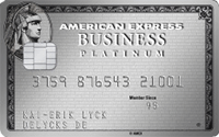american express business platinum kreditkarte