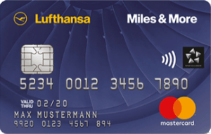 Miles & More Credit Card Blue