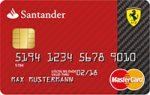 ferrari santander kreditkarte