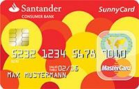 santander sunnycard kreditkarte